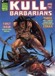 Kull And The Barbarians Magazine